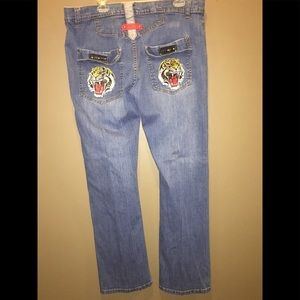 NWOT! Flash Sale! Ed Hardy Mens Skinny Jeans